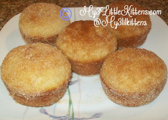 French Breakfast Muffins Recipe {Cinnamon & Sugar} - My 3 Little ...
