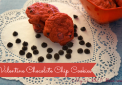 Valentine Chocolate Chip Cookies Recipe