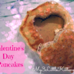Valentine's Day Breakfast Pancakes