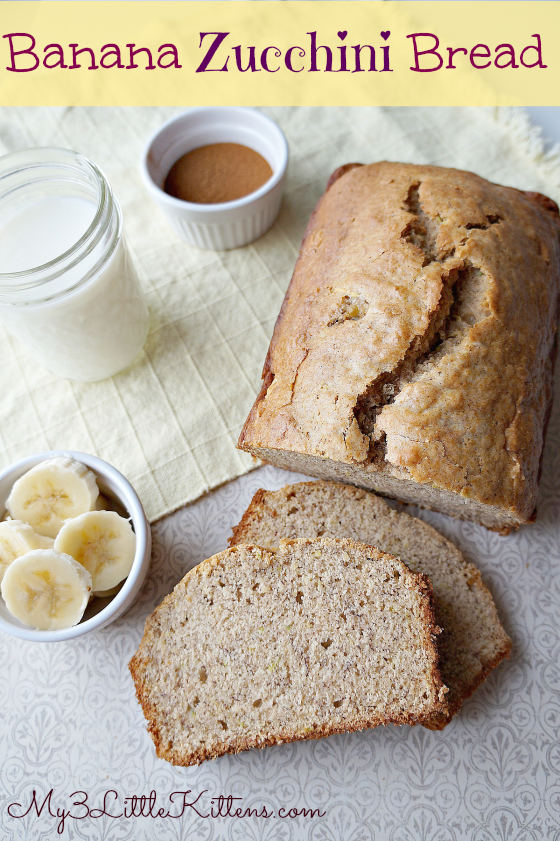 Banana Zucchini Bread Recipe