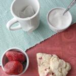 Strawberry Petite Scones