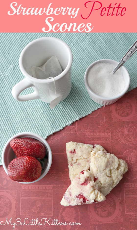 Strawberry Petite Scones
