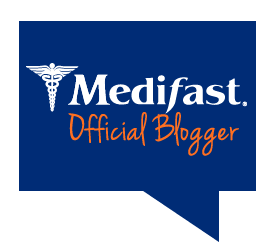 Official Medifast blogger badge