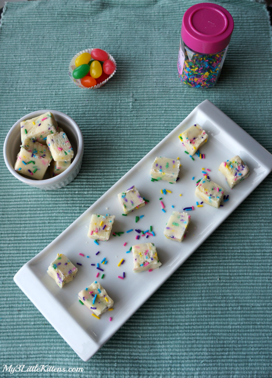 Confetti Fudge Bar Recipe