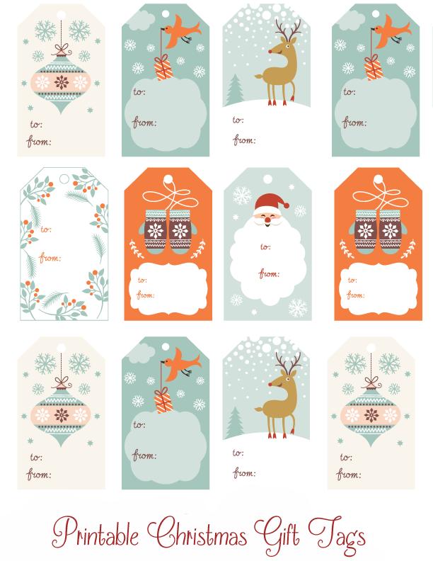 Printable Christmas GiftTags copy