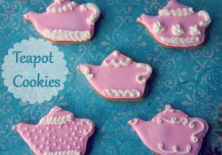 Gingerbread Teapot Cookies