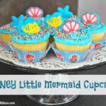 Disney Little Mermaid Cupcakes