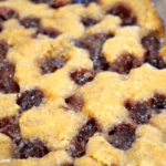 Out of This World Cherry Cobbler