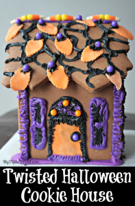 Twisted Halloween Cookie House