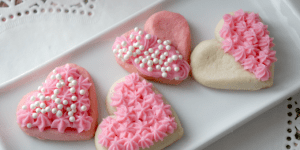 Be My Valentine Sugar Cookies