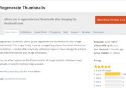 How to Resize Images After WordPress Theme Change