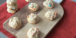 Mini M&M's Cookies