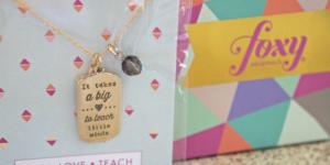 Teacher Appreciation Foxy Originals Jewelry #Giveaway