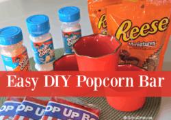 Easy DIY Popcorn Bar