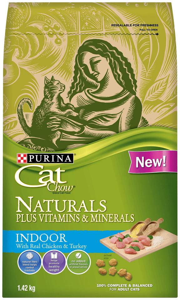 Purina Naturals Cat Food Calories