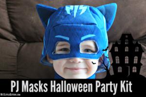 PJ Masks Halloween Party Kit