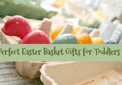 Perfect Easter Basket Gifts for Toddlers