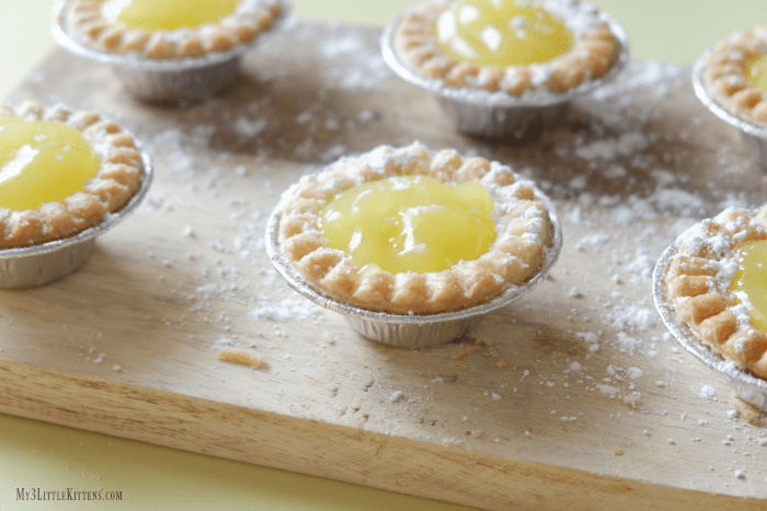 Lemon Tartlets you won't be able to stop!