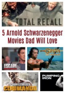5 Arnold Schwarzenegger Movies Dad Will Love #StreamTeam