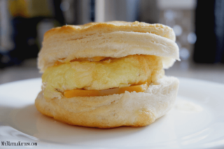 Cheesy Egg Biscuit