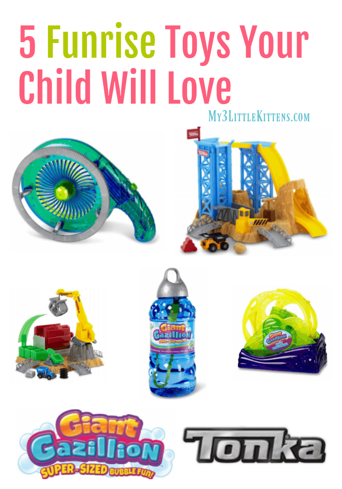 5 Funrise Toys Your Child Will Love! Get the wish list ready!