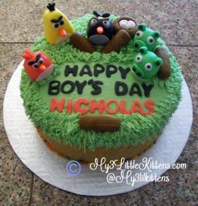 Angry Birds Cake Decorating Tutorial