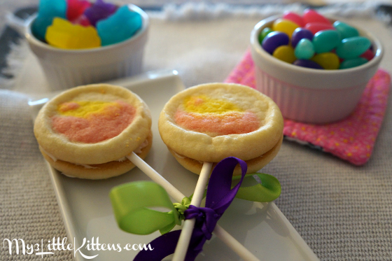 Easter Cookie Pops Recipe