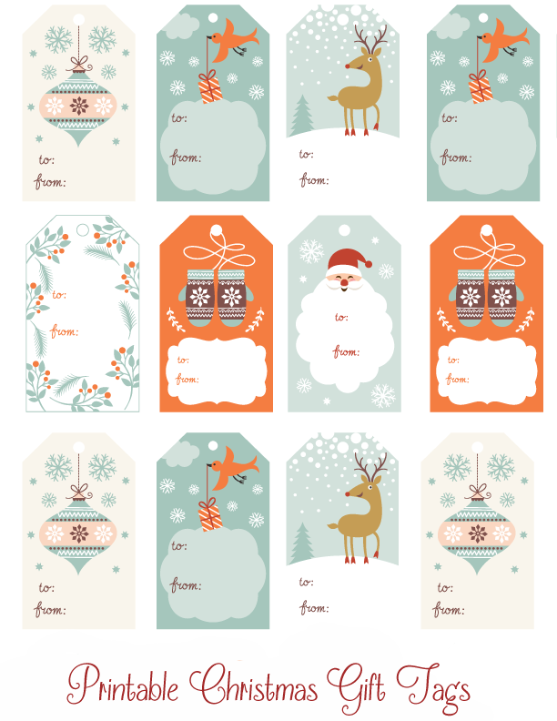 Printable Christmas GiftTags copy