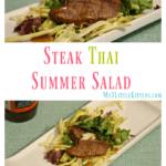 Steak Thai Summer Salad