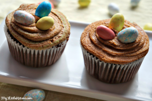 Easter Nests Cupcakes