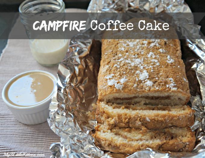 Campfire Coffee Cake Pic