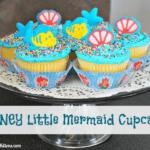 Disney Little Mermaid Cupcakes