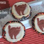 Halloween Cookie Sandwiches
