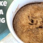 Cake in a Mug – Snickerdoodle