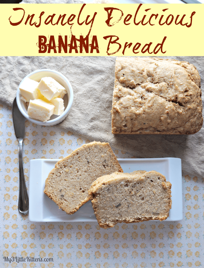 Insanely Delicious Banana Bread Pic