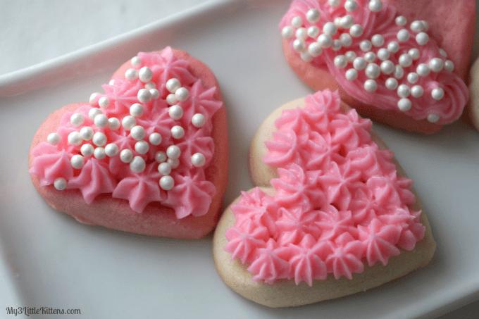 how to make valentine sugar cookies