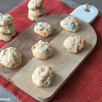 Mini M&M's Cookies
