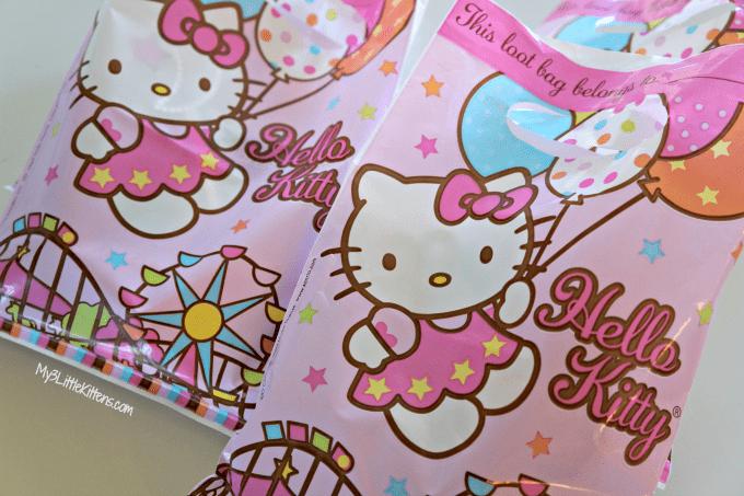 Inexpensive Diy Birthday Goo Bags My 3 Little Kittens