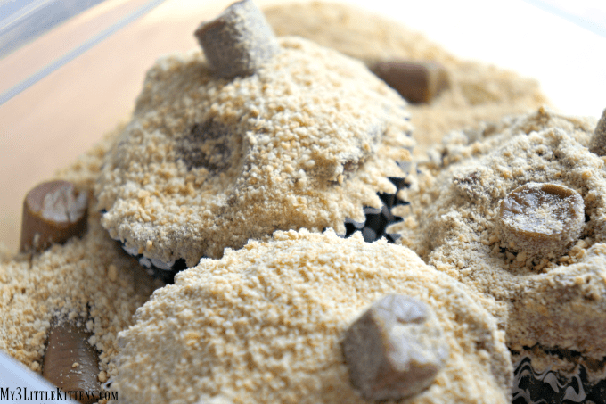 These Cat Litter Cupcakes are the perfect dose of kitty cat deliciousness!