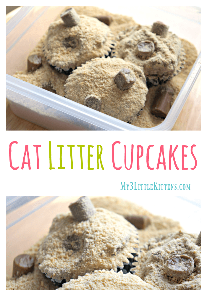 These Cat Litter Cupcakes are the Cat's Meow!