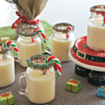 Christmas Candy Cane Eggnog