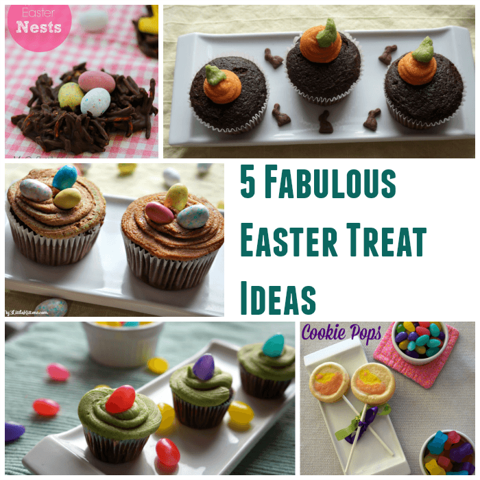 These Five Fabulous Easter Treat Ideas are perfect for those that want to make something fantastic, but also want to save time!