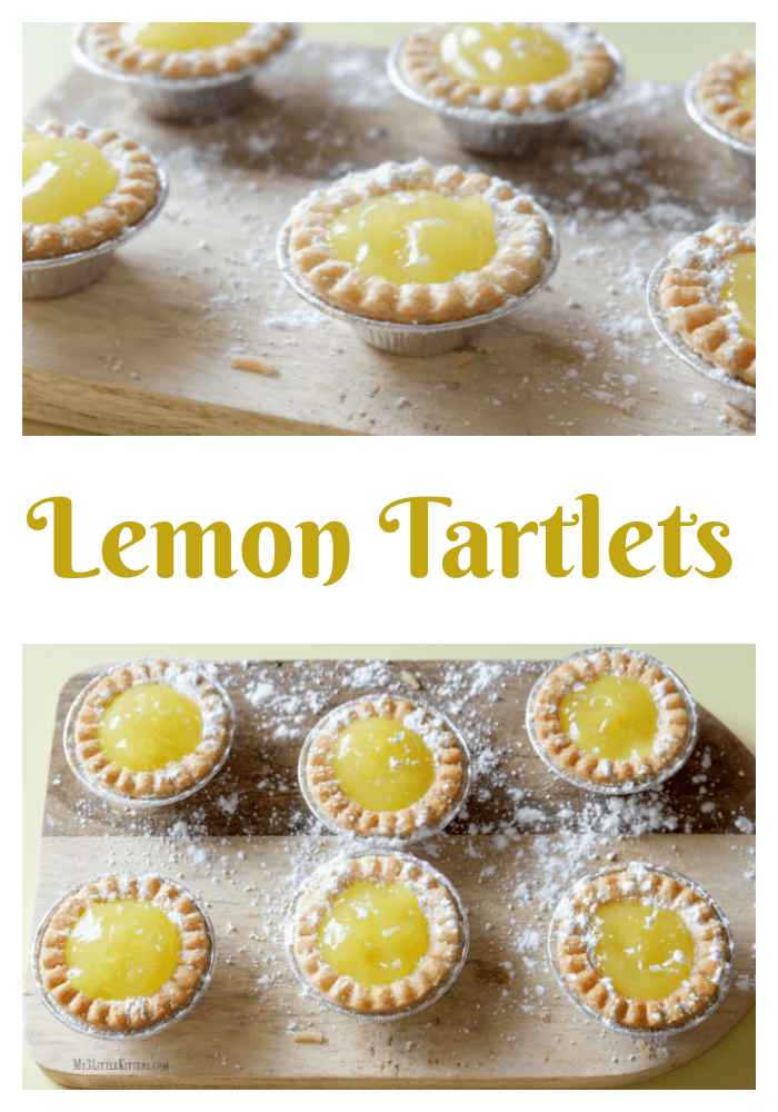These lemon tartlets will give your tastebuds just what they have been longing for!