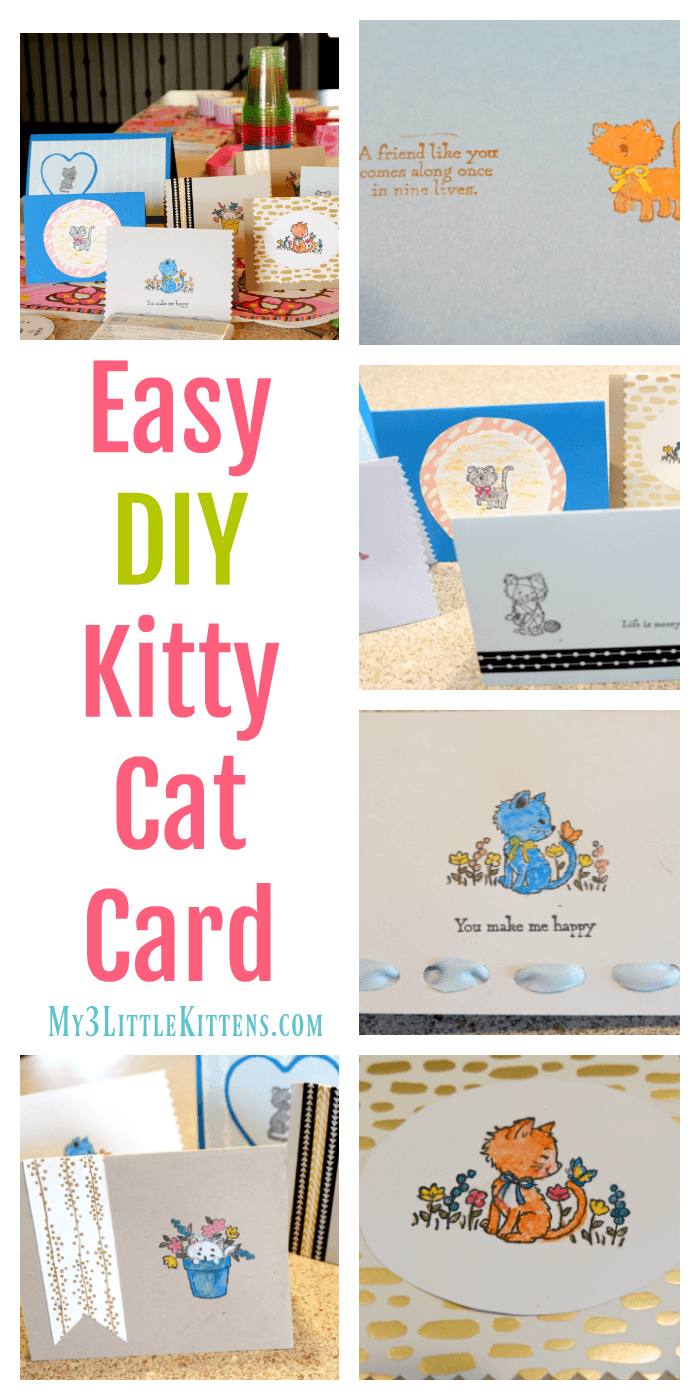 3 Easy Diy Storage Ideas For Small Kitchen: Easy DIY Kitty Cat Card