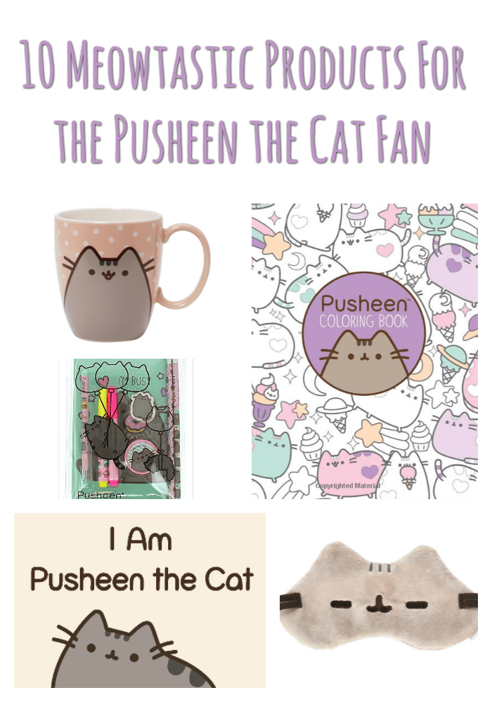 0 Meowtastic Products for the Pusheen the Cat Fan