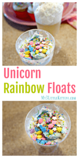 Unicorn Rainbow Floats