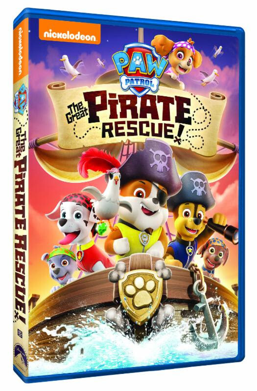Paw Patrol The Great Pirate Rescue DVD