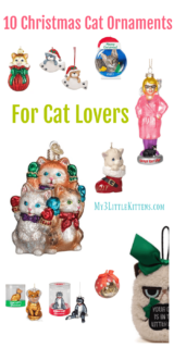 10 Christmas Cat Ornaments For Cat Lovers