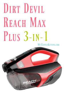 Dirt Devil Reach Max Plus 3-in-1 #Giveaway