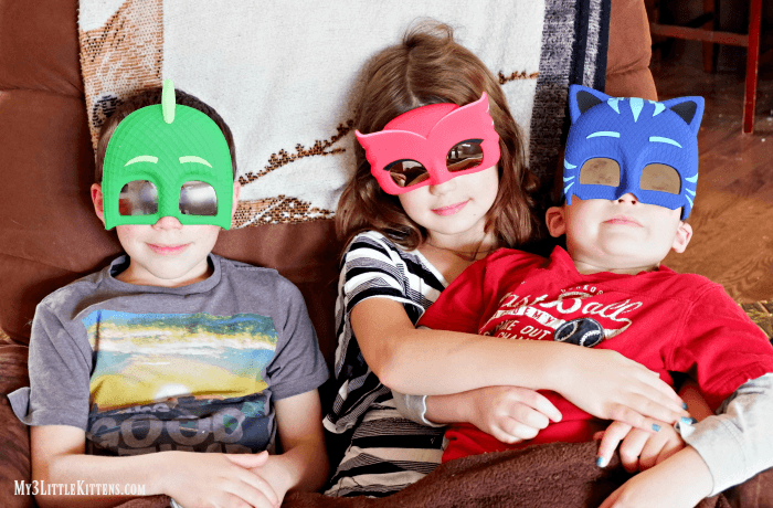 Time to Create with PJ Masks